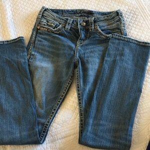 Women's Silver jeans sz 25/30